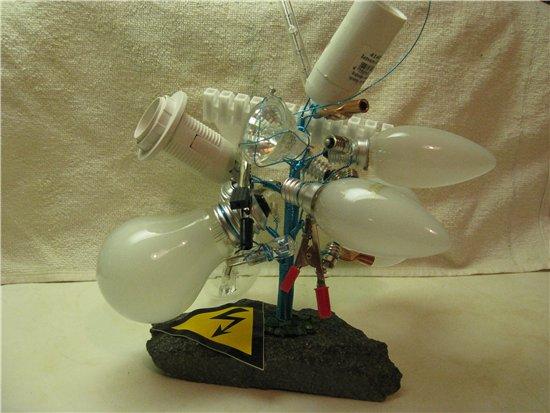 Креативный подарок электрику 32